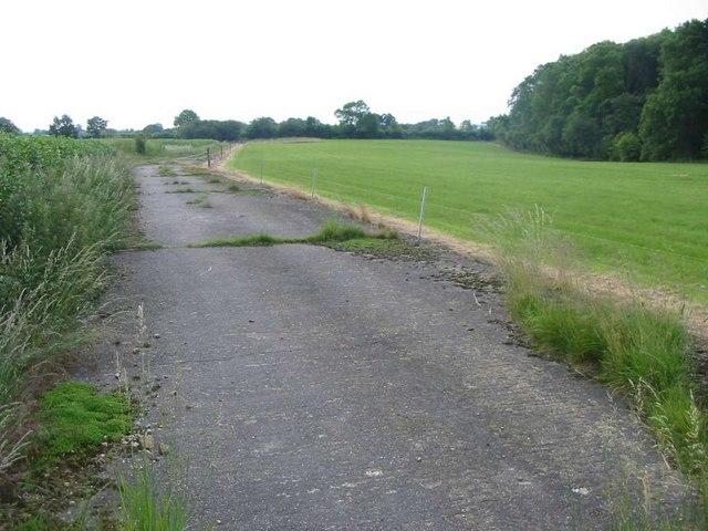 Woolfox Lodge Airfield (disused)