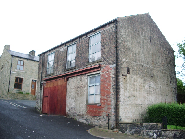 Building on Rose Bank Street, Bacup