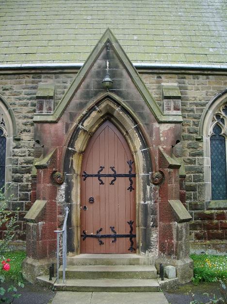 The Parish Church of All Saints, Pendleton, Door