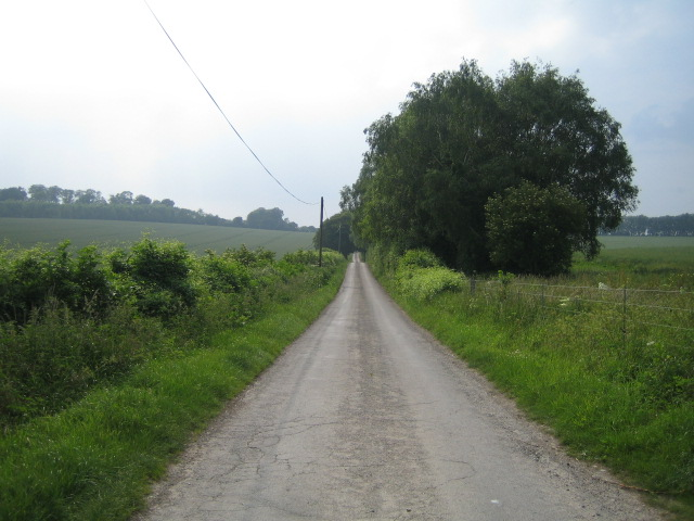 Roman road near Broughton