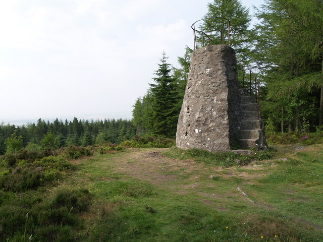 Tappie Tower on Tyrebagger Hill