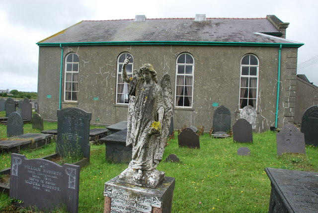Mynwent Capel Hebron Graveyard