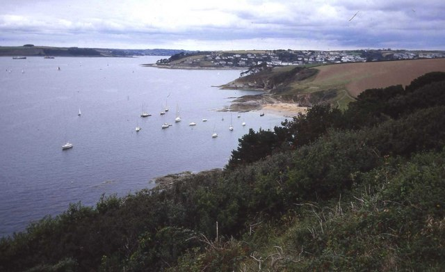 Carrick Roads from St Anthony Head