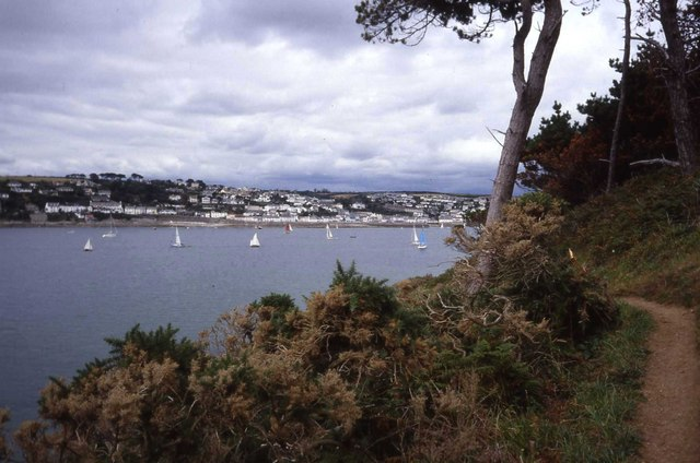 St Mawes from Carricknath Point