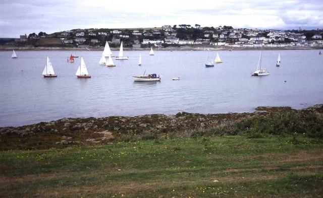 Sail boats at St Mawes