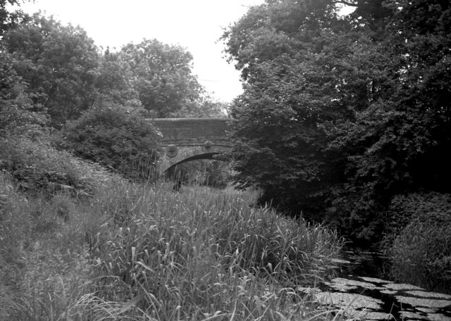Barley Mow Bridge from the west