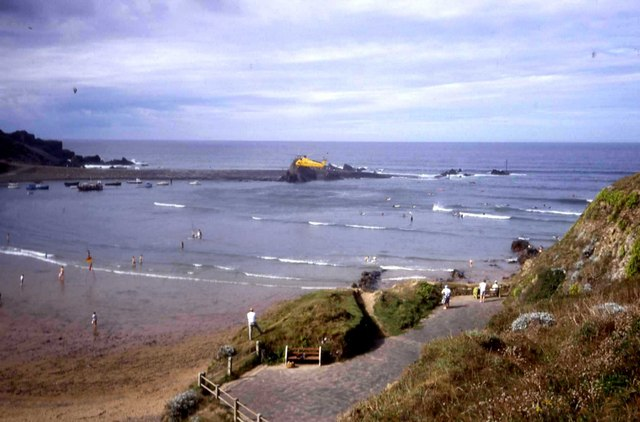 Marine rescue at Bude
