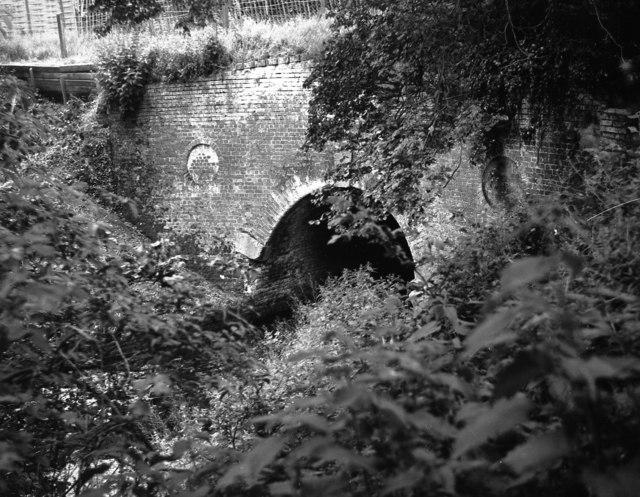 Eastern portal of Greywell Tunnel, Basingstoke Canal