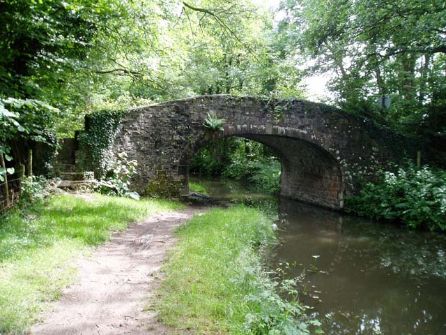 Bridge over the Monmouth & Brecon Canal