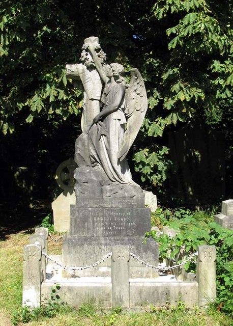 Angel in St Andrew Old Church, Churchyard, Kingsbury, London NW9