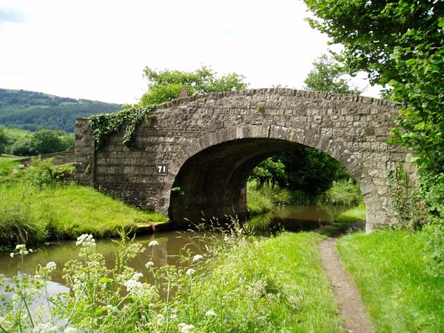 Bridge over the Monmouthshire & Brecon Canal