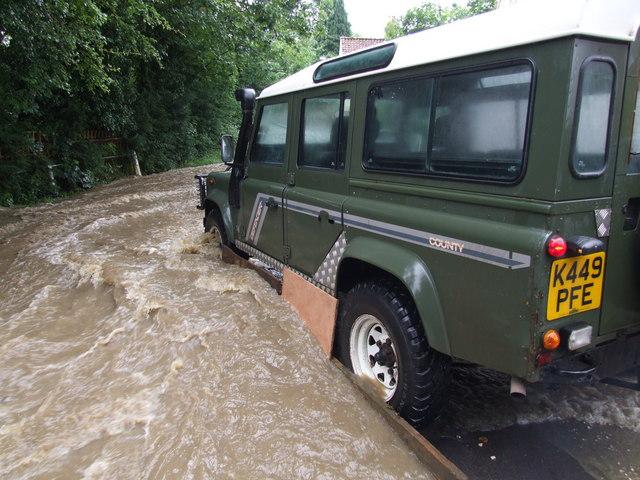 Flooding at Old Bolingbroke