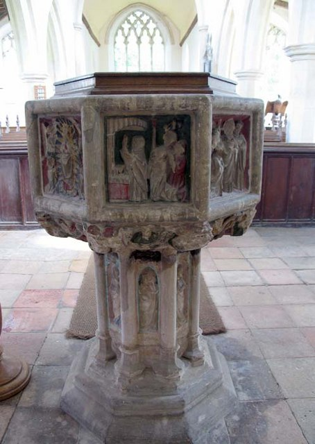 St Mary, Great Witchingham, Norfolk - Font