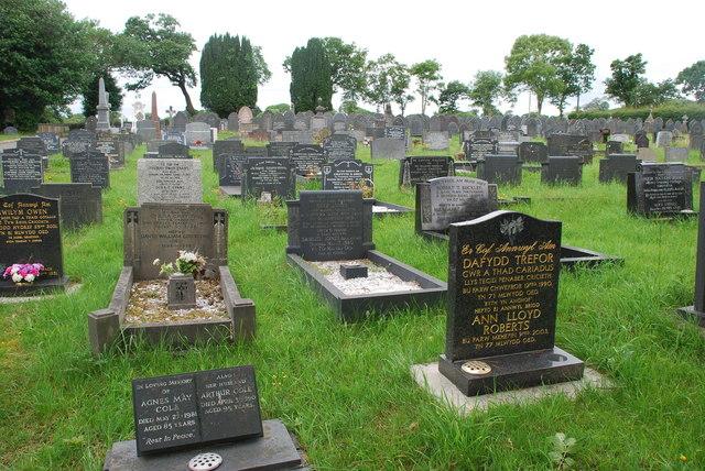 Mynwent Criccieth Cemetery