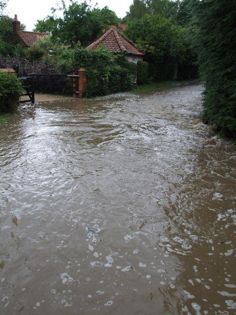 Flooding at Old Bolingbroke