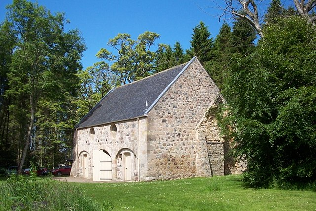An outbuilding at Brodie Castle