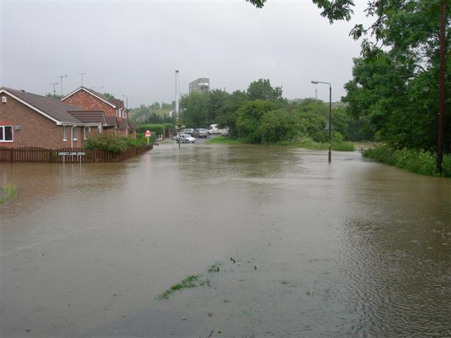 Flooding At Emmett Carr Lane
