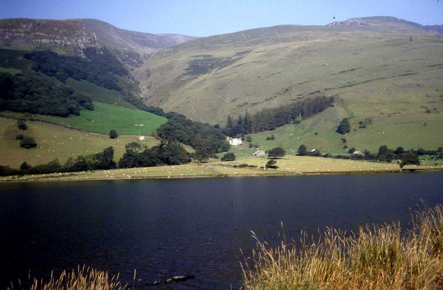 Looking across Tal-y-llyn Lake