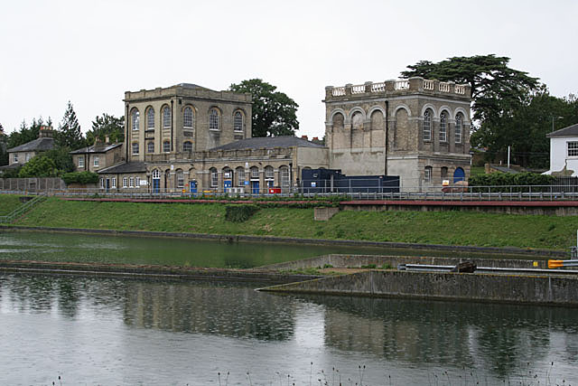 Stately home and park lake?