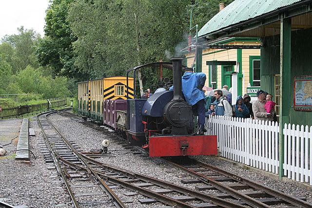 Narrow gauge railway, Amberley working museum