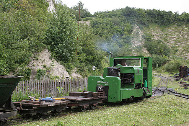 Industrial railway, Amberley working museum