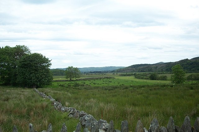 Moorland in front of Dunamuck, Argyll