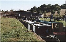 SU2967 : Oakhill Down Lock - No.68 - Kennet & Avon Canal - 2003 by Maurice Pullin
