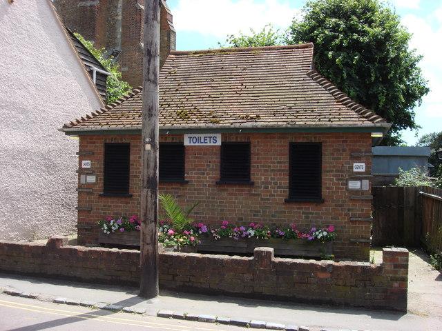 Public Toilets, Church Square, St Osyth