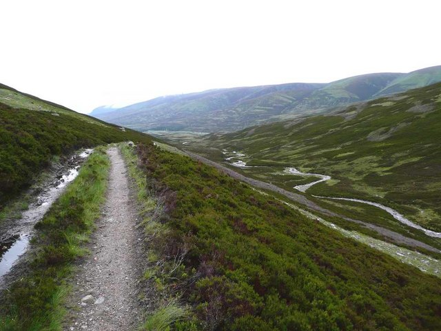 The track up to Coire Fhar