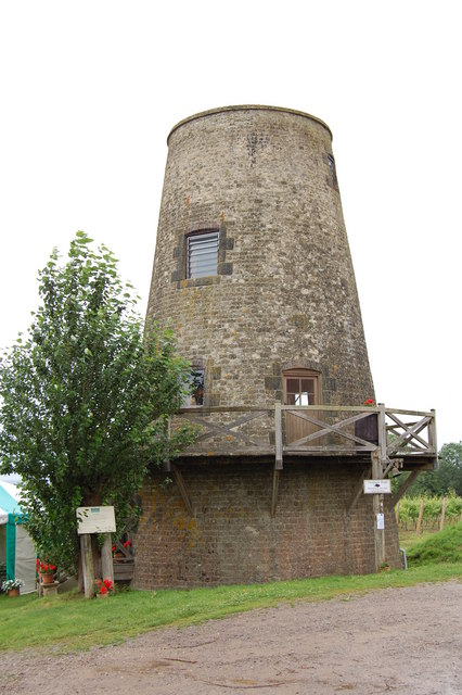 Nutbourne tower mill, West Sussex