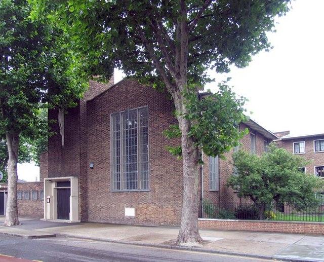 St Nicholas & All Hallows, Aberfeldy Street, London E14
