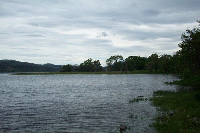 The banks of Loch Awe