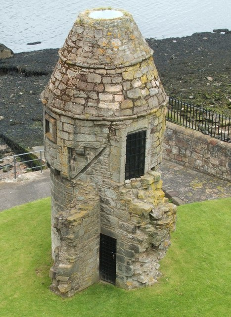 Doocot from the Battlements