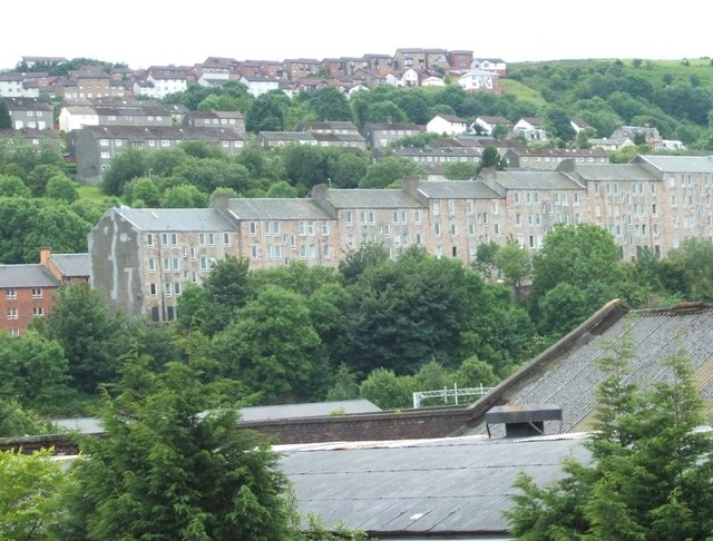 Bouverie Tenements from N/E