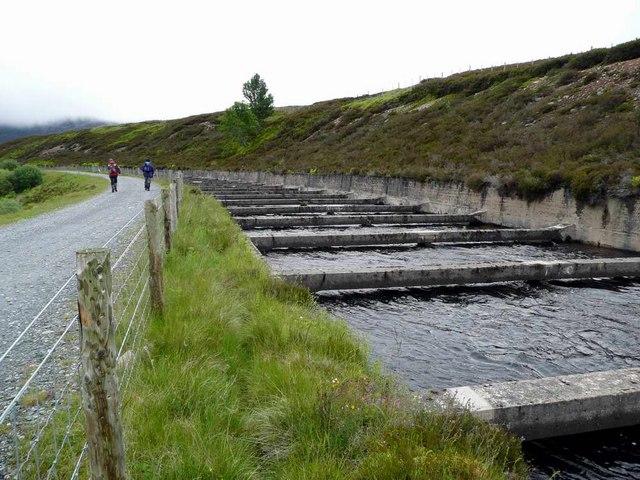 The Cuaich Aqueduct