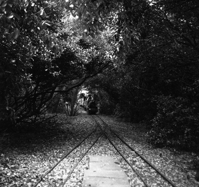 Miniature railway, Littlehampton, Sussex