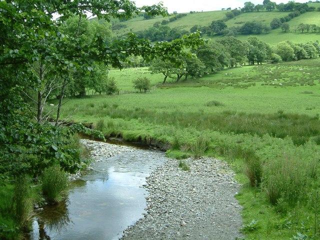 River Hirnant from B4396 near Hirnant