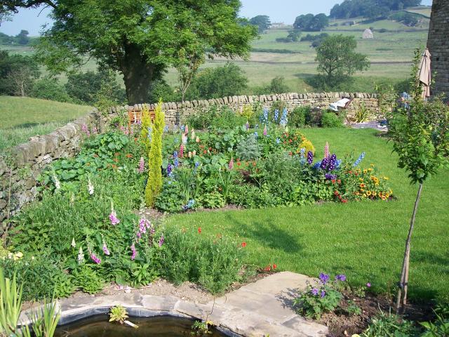 Garden at Howgill Farm