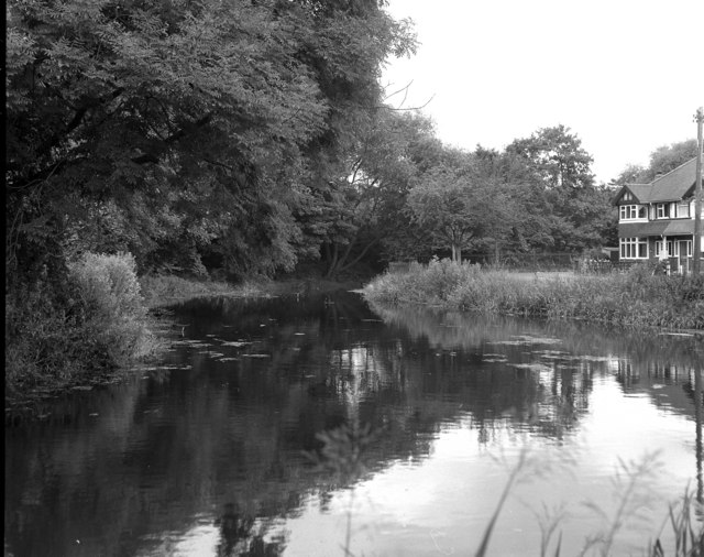 River Wandle at Carshalton