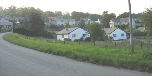 New houses in Stryd y Fron