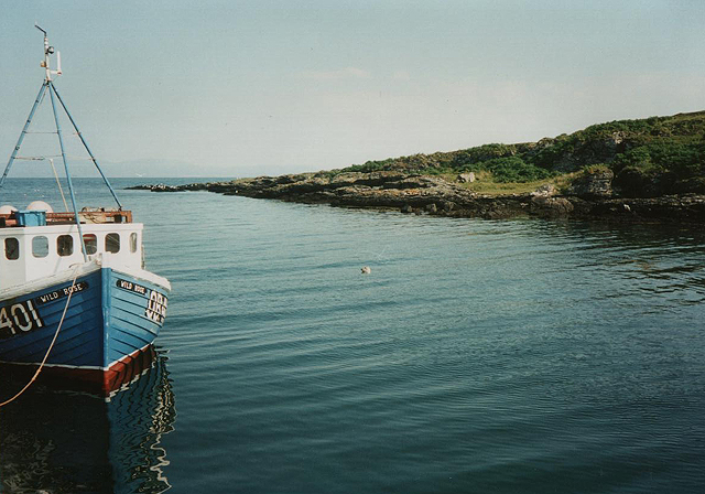 Scalasaig harbour, Colonsay