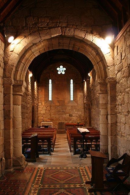 Old Bewick Church (interior)