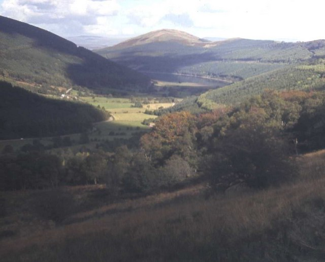 View towards Talybont Reservoir from the Taff Trail
