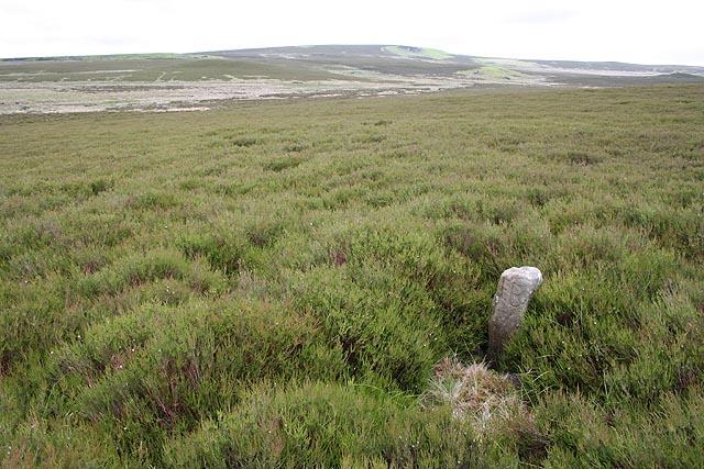 Boundary stone, Bewick Moor