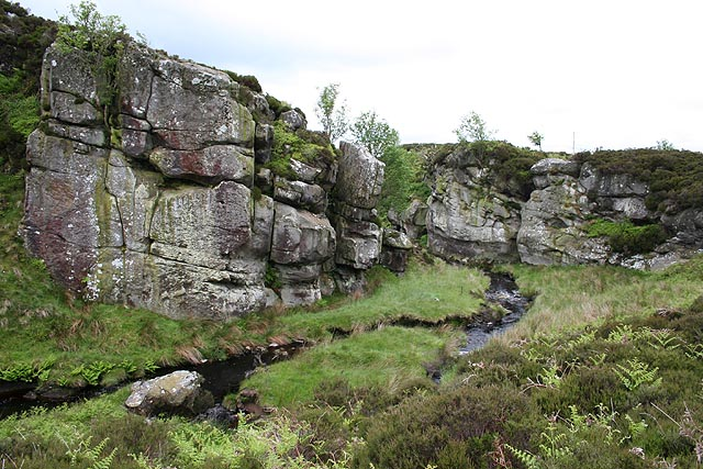 Harehope Burn and Dove Crags