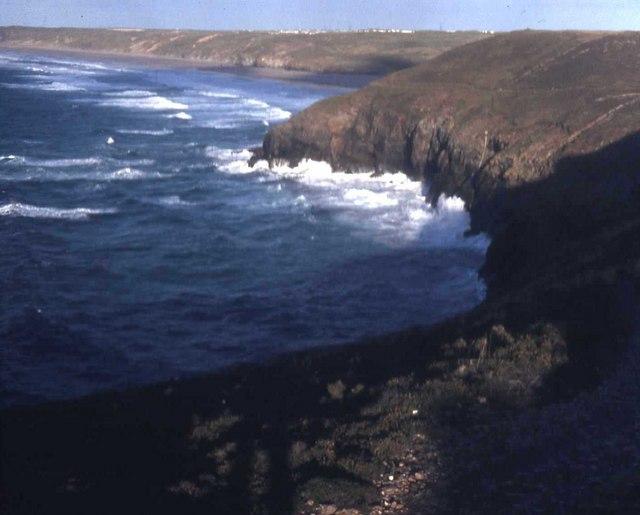 Cliffs near Perranporth