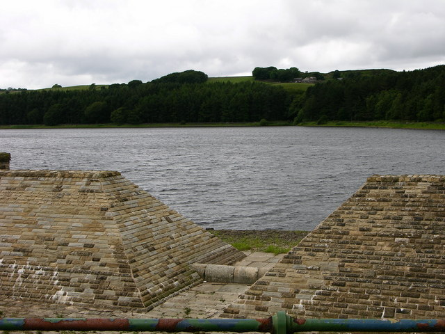 View West of Turton and Entwistle Reservoir