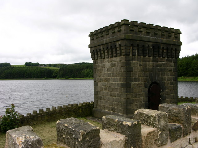 Water Tower, Turton and Entwistle Reservoir