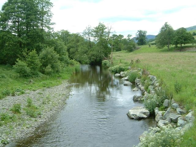 Afon Tanat at Pedair-ffordd