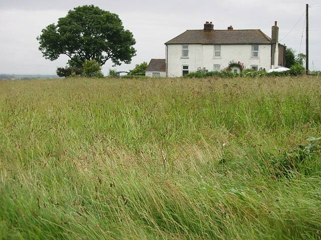 Lone house on Brambling Road